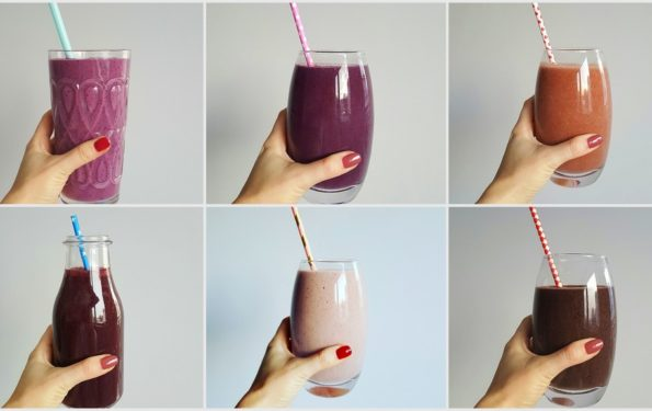 zielone smoothies front