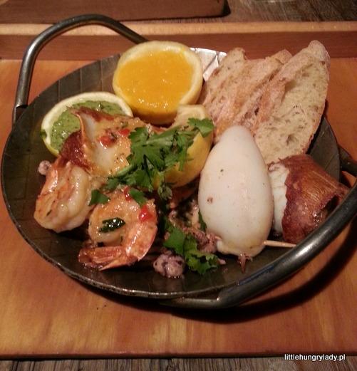seafood w Kraken