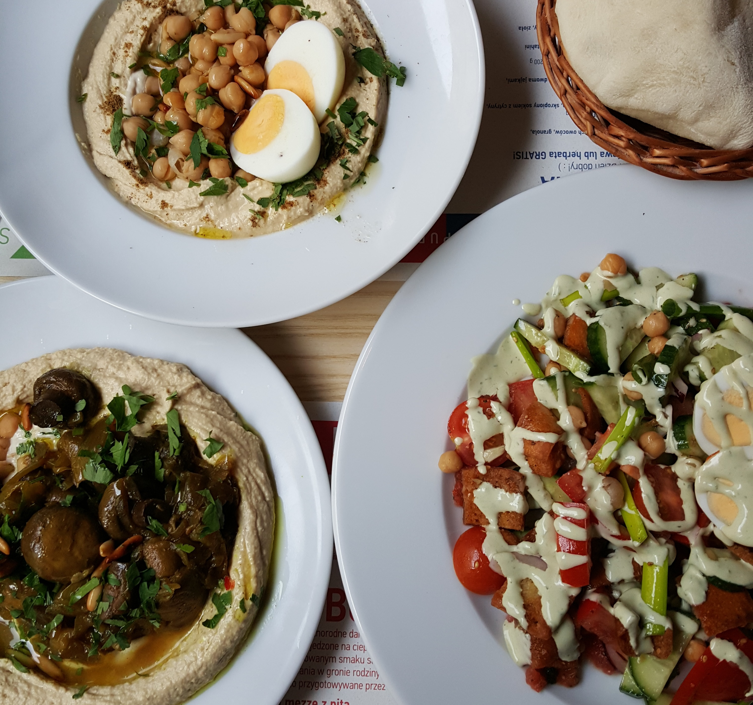 Restauracja Shipudei Berek Na Izraelskie Sniadanie