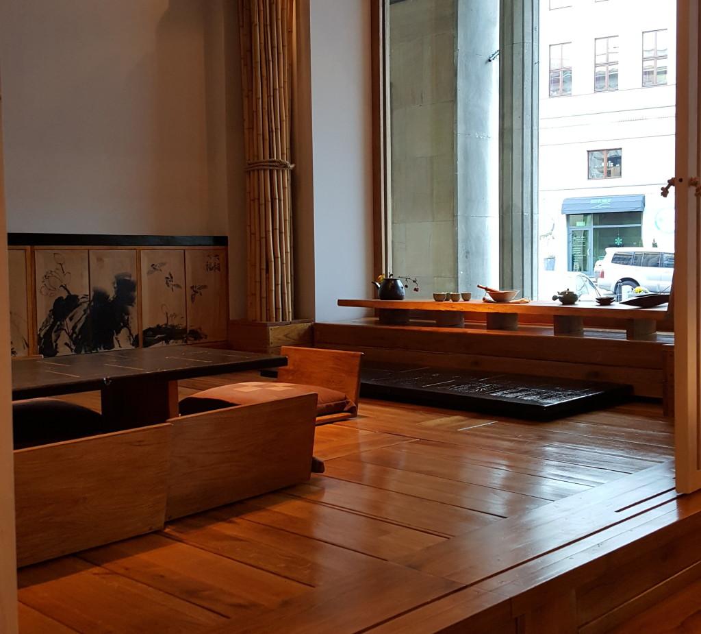 Onggi wnętrze restauracji pokój