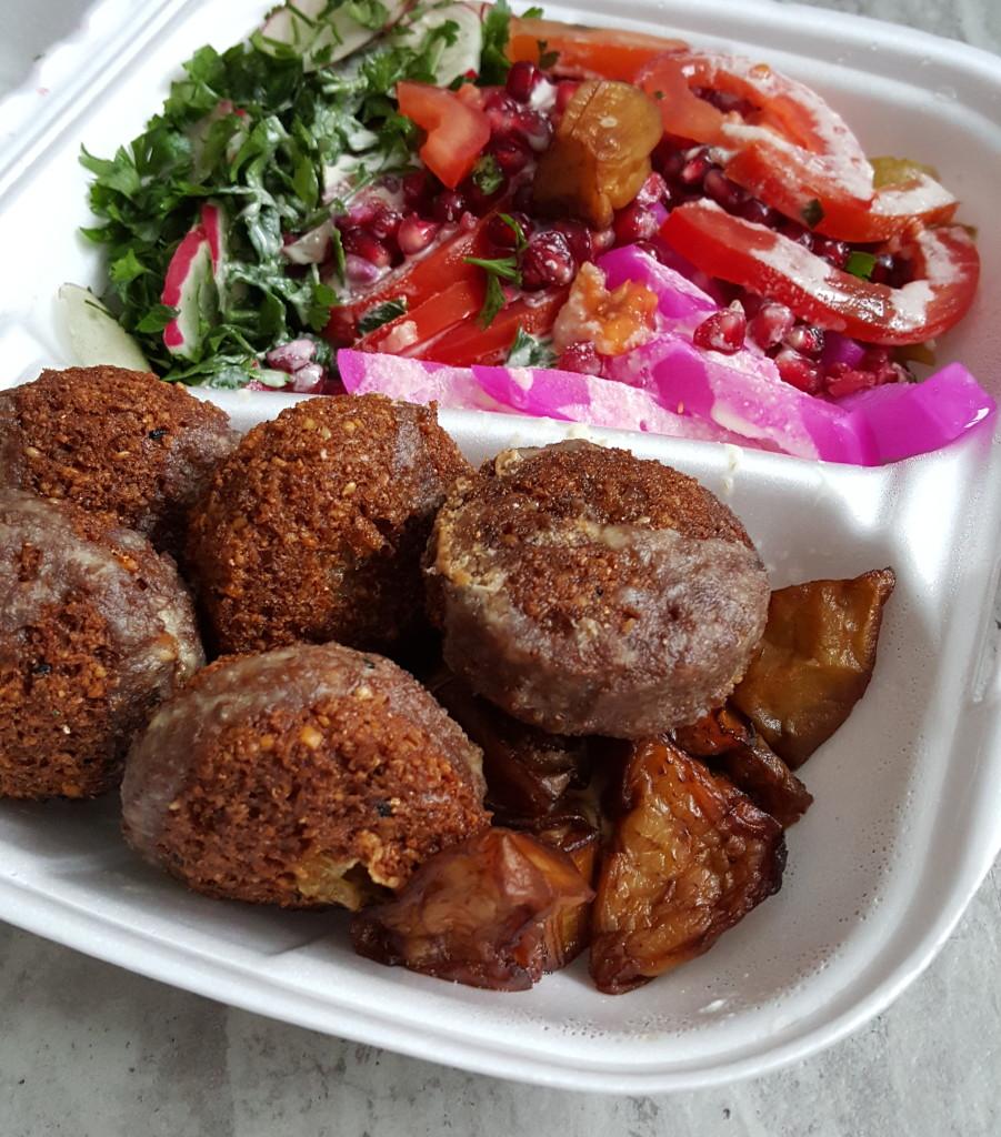 Falafel Bejrut zestaw vegan