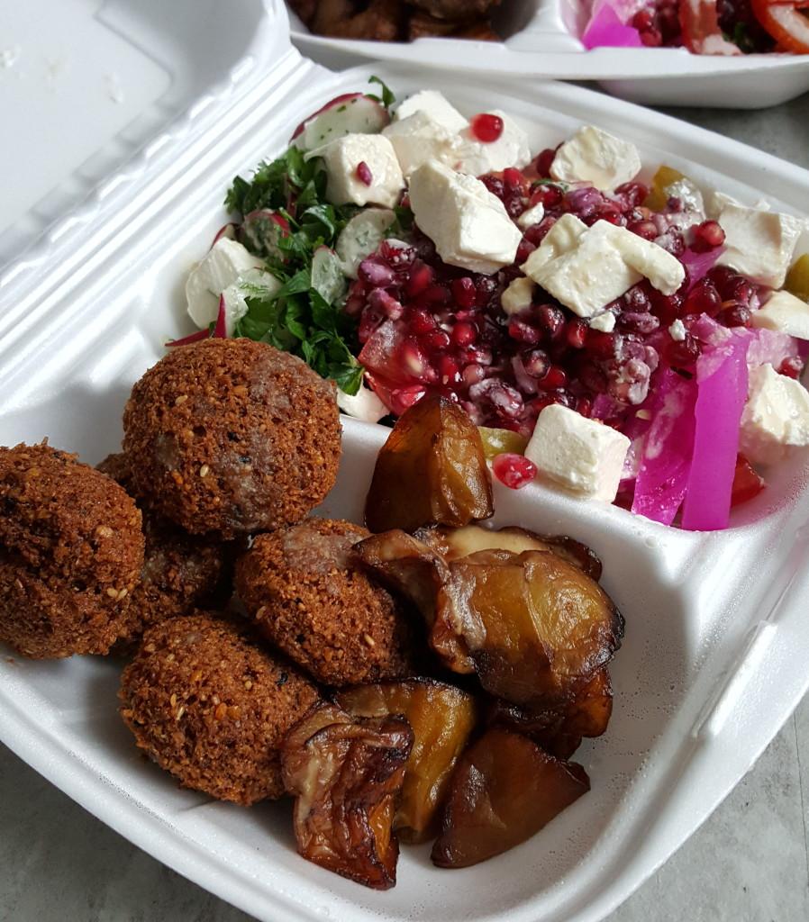 Falafel Bejrut zestaw z serem
