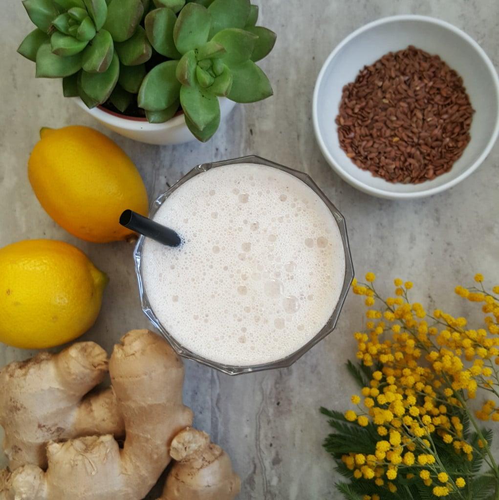 Oczyszczający koktajl z cytryny