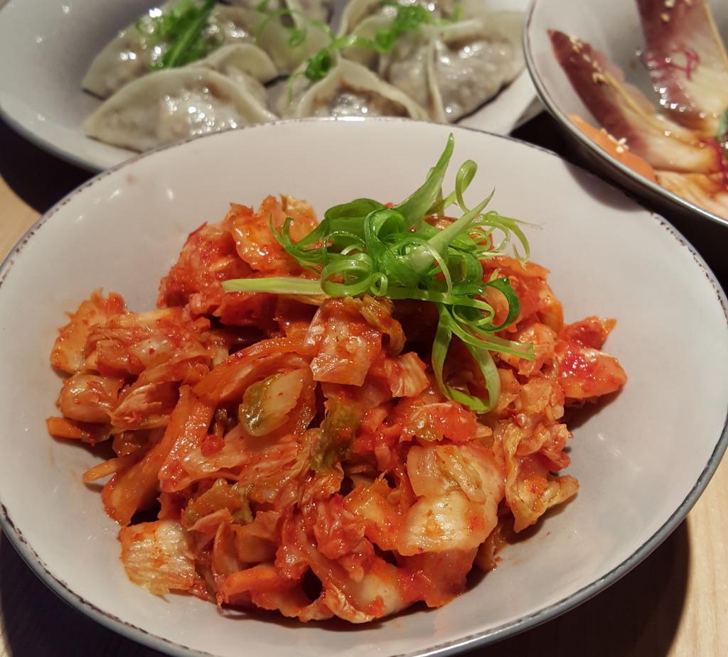 Shoku na azjatyckie fusion kimchi