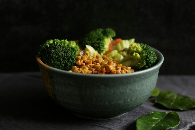 Warzywa z pastą curry