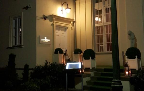 restauracja belvedere wejście