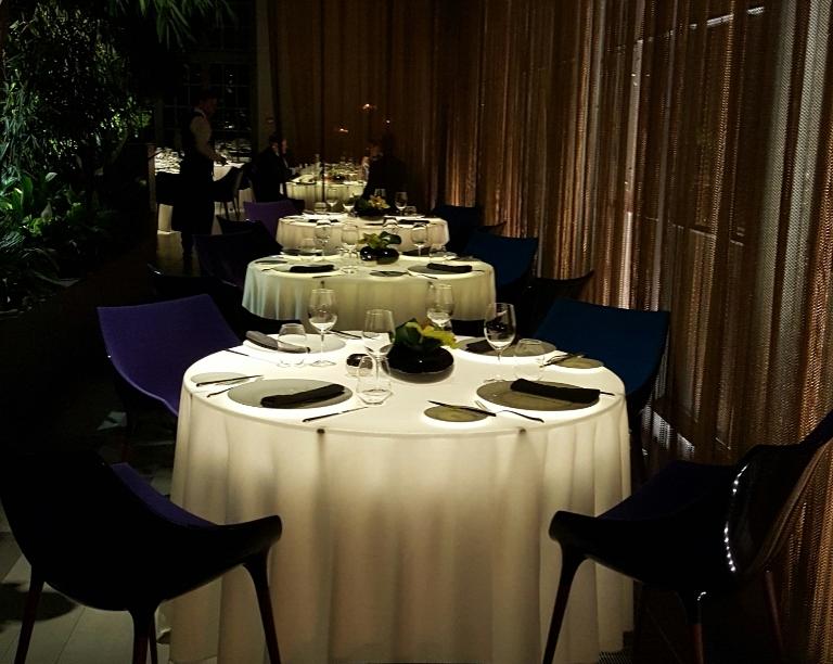 restauracja belvedere stoły