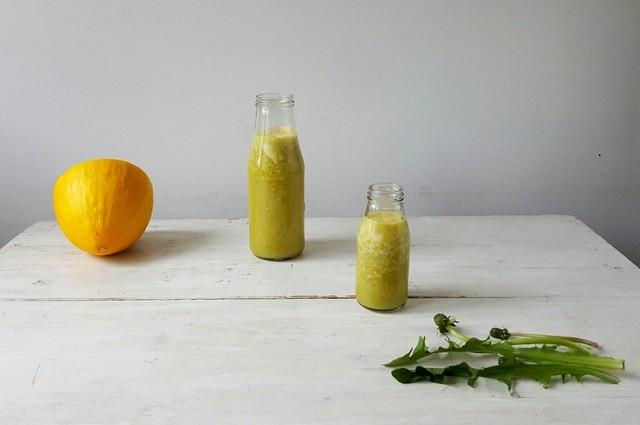 Zielony koktajl z quinoa
