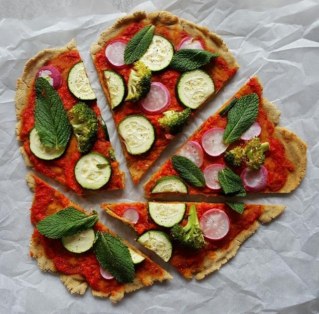 Warzywna pizza