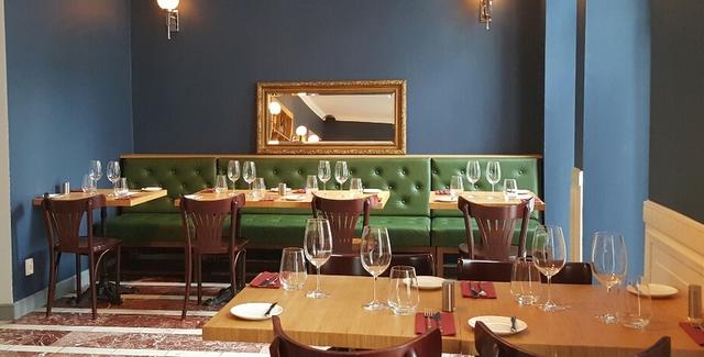 restauracja dyletanci wnętrze