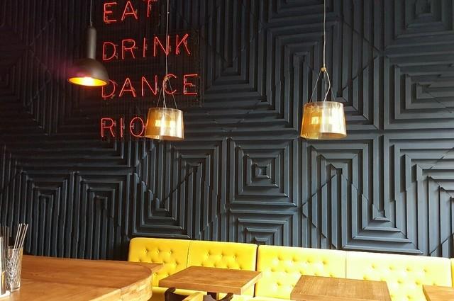 restauracja Fokim w Warszawie wnętrze