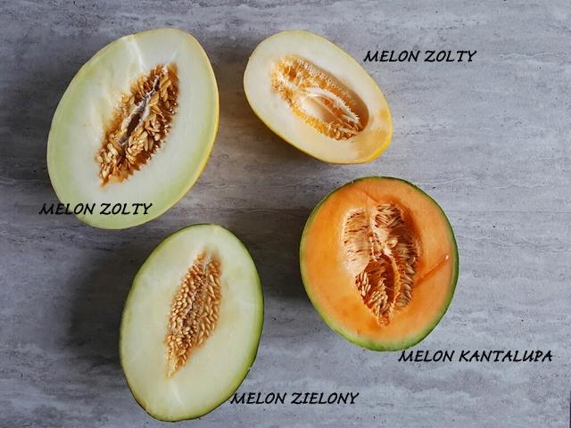 owoce tropikalne melon srodek