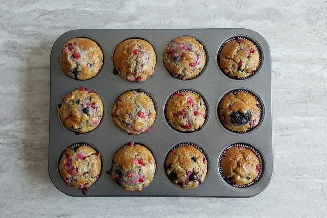 owocowe muffiny