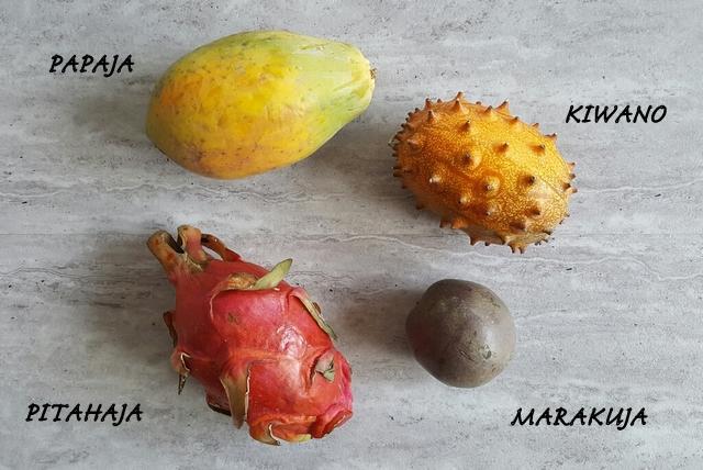 owoce tropikalne inne