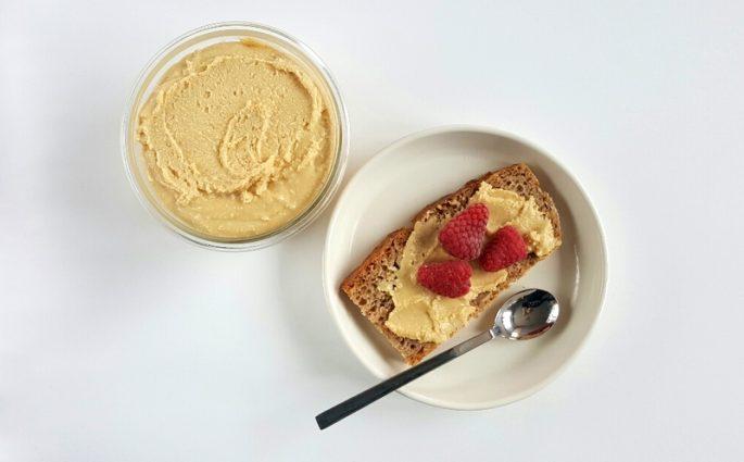 mieszane masło orzechowe