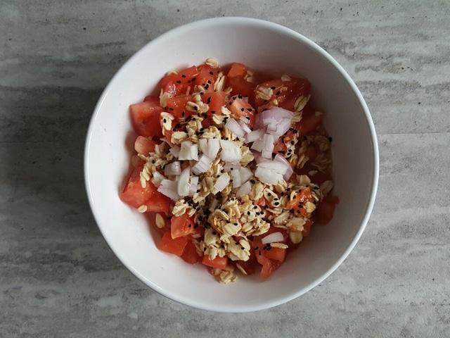 wytrawne płatki z cebulą