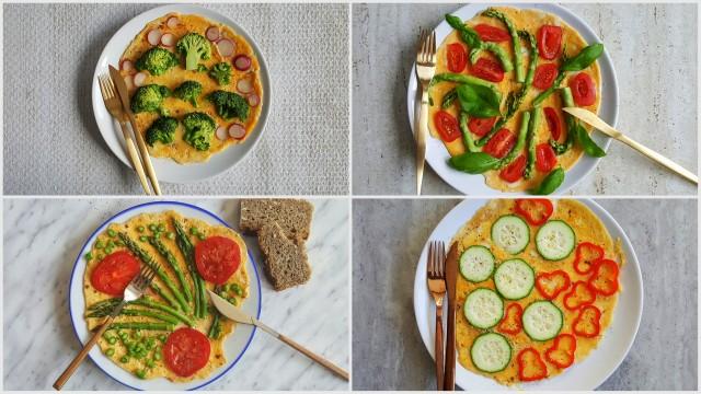 fit kolacja omlet