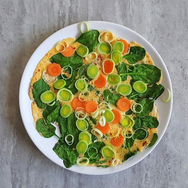 omlet marchewka