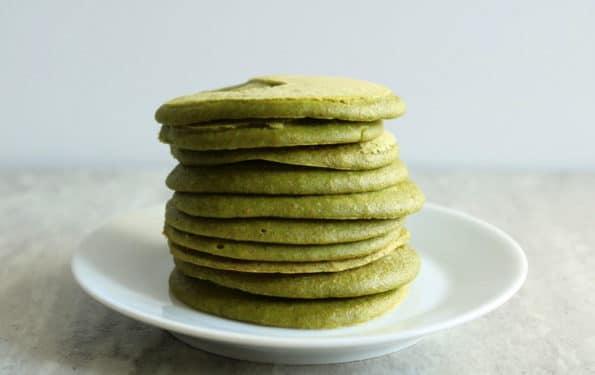 zielone placuszki