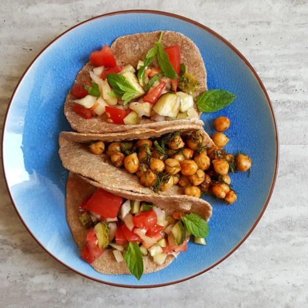 orkiszowe tacos
