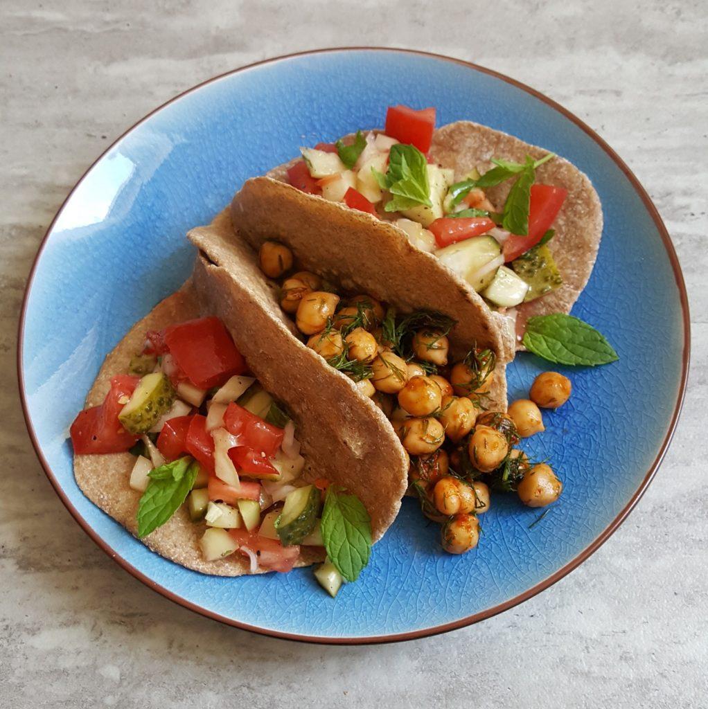 orkiszowe tacos bok