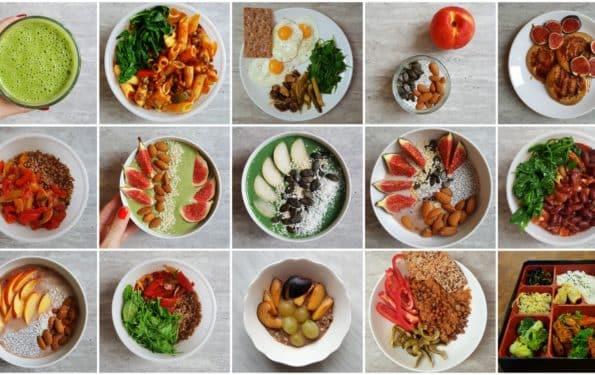 jesienny jadłospis kolaż
