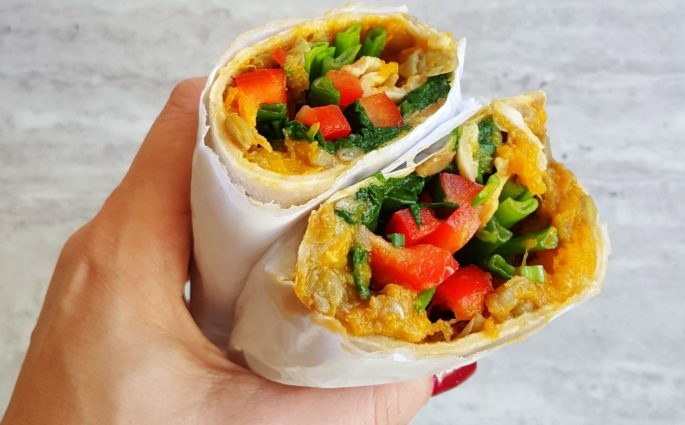 tortilla z dynią