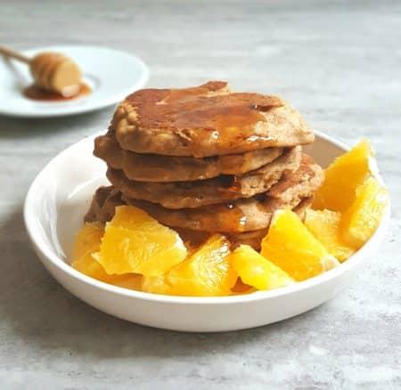 Piernikowe placuszki na śniadanie – bezglutenowe, wegańskie