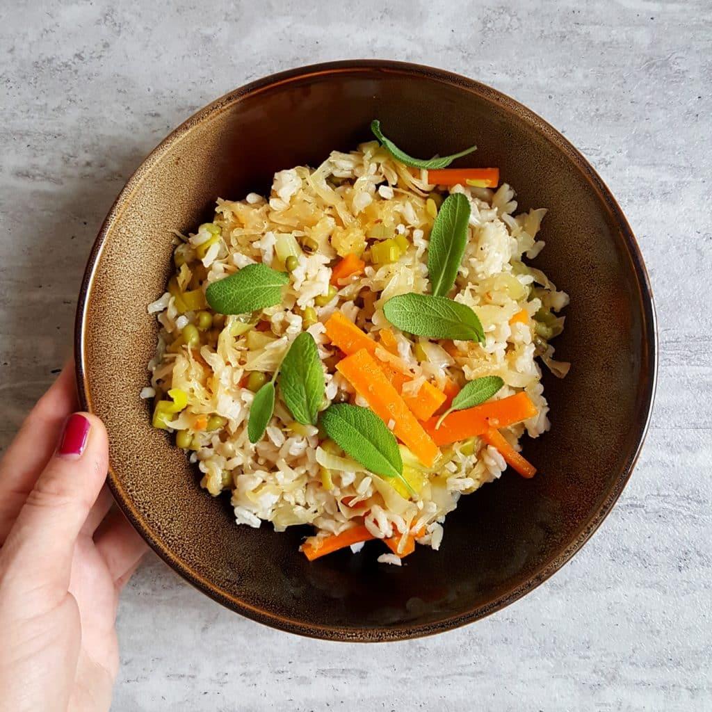 ryż z kapustą blog