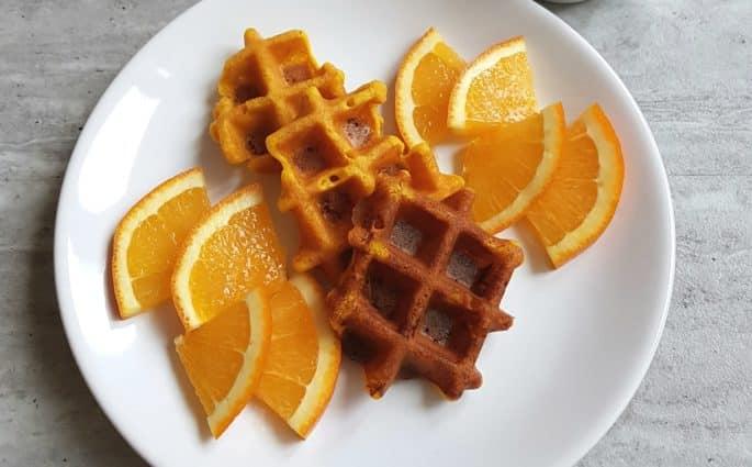gofry pomarańczowe