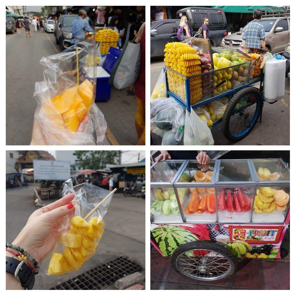 przekąski w Bangkoku