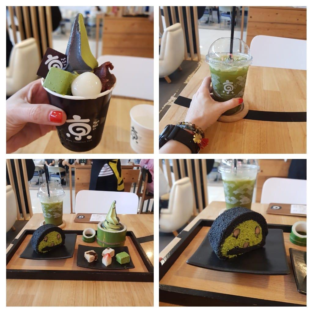 zjeść w Bangkoku Matcha desery