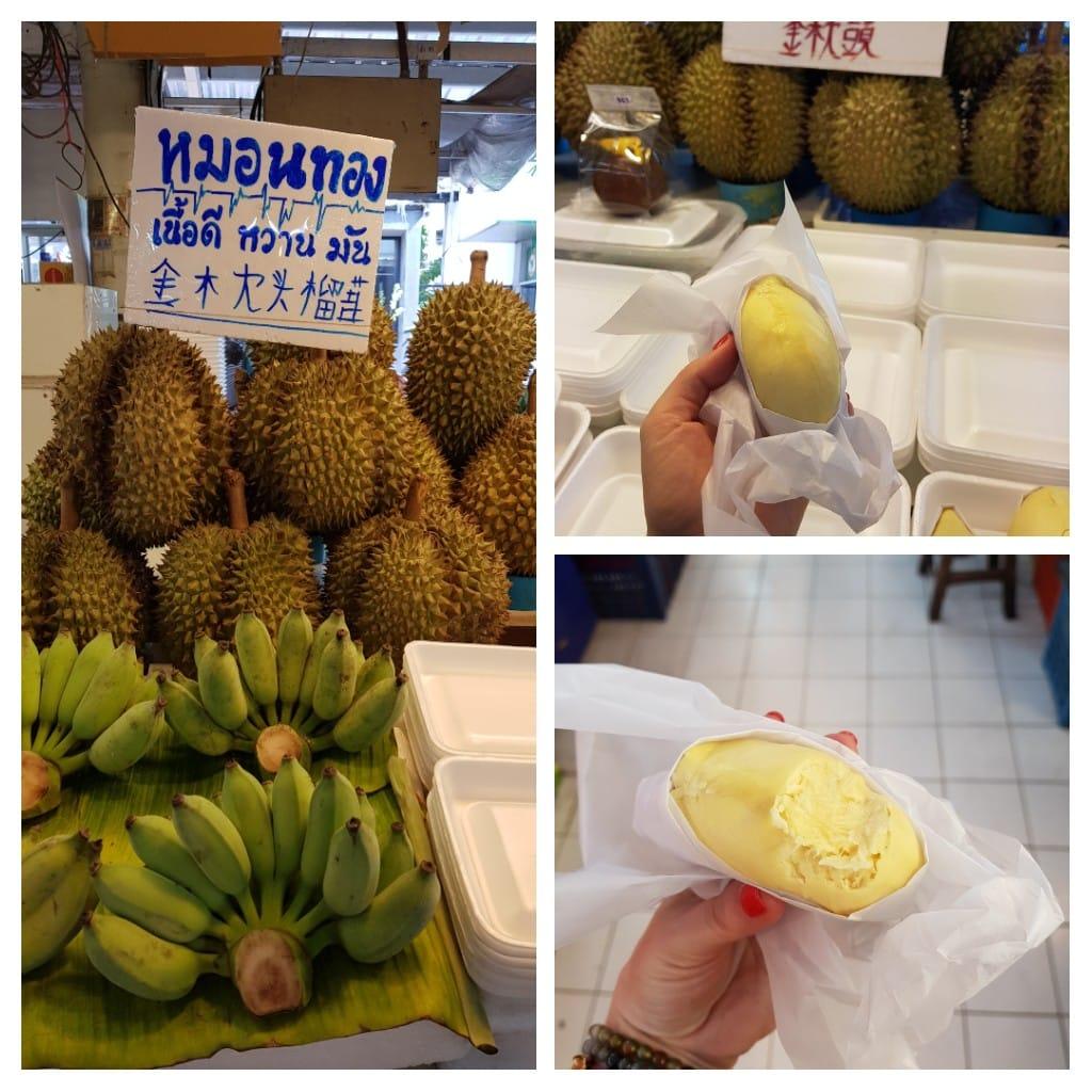 zjeść w Bangkoku durian