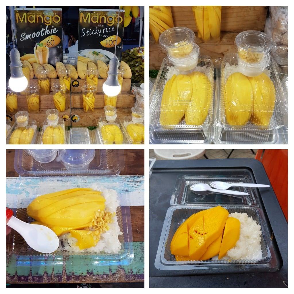 zjeść w Bangkoku mango sticky rice