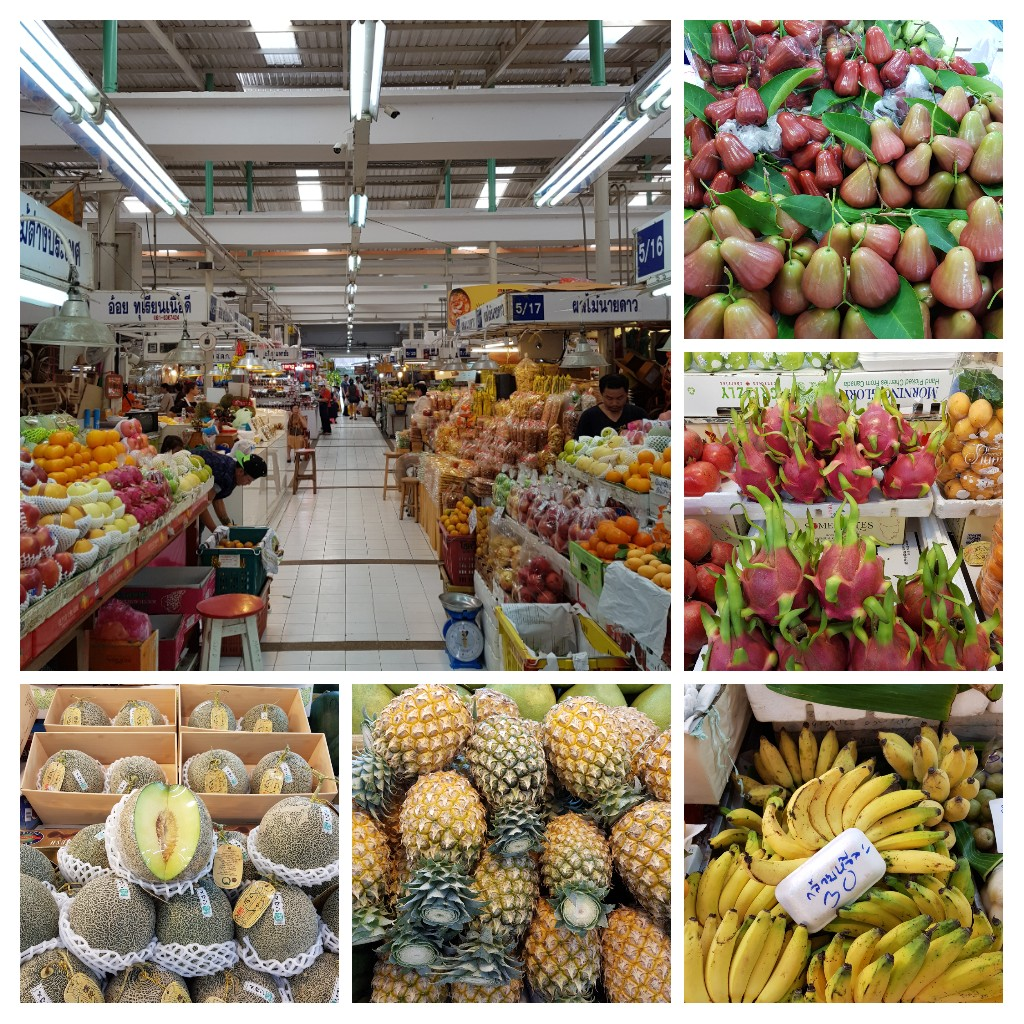 zjeść w Bangkoku owoce