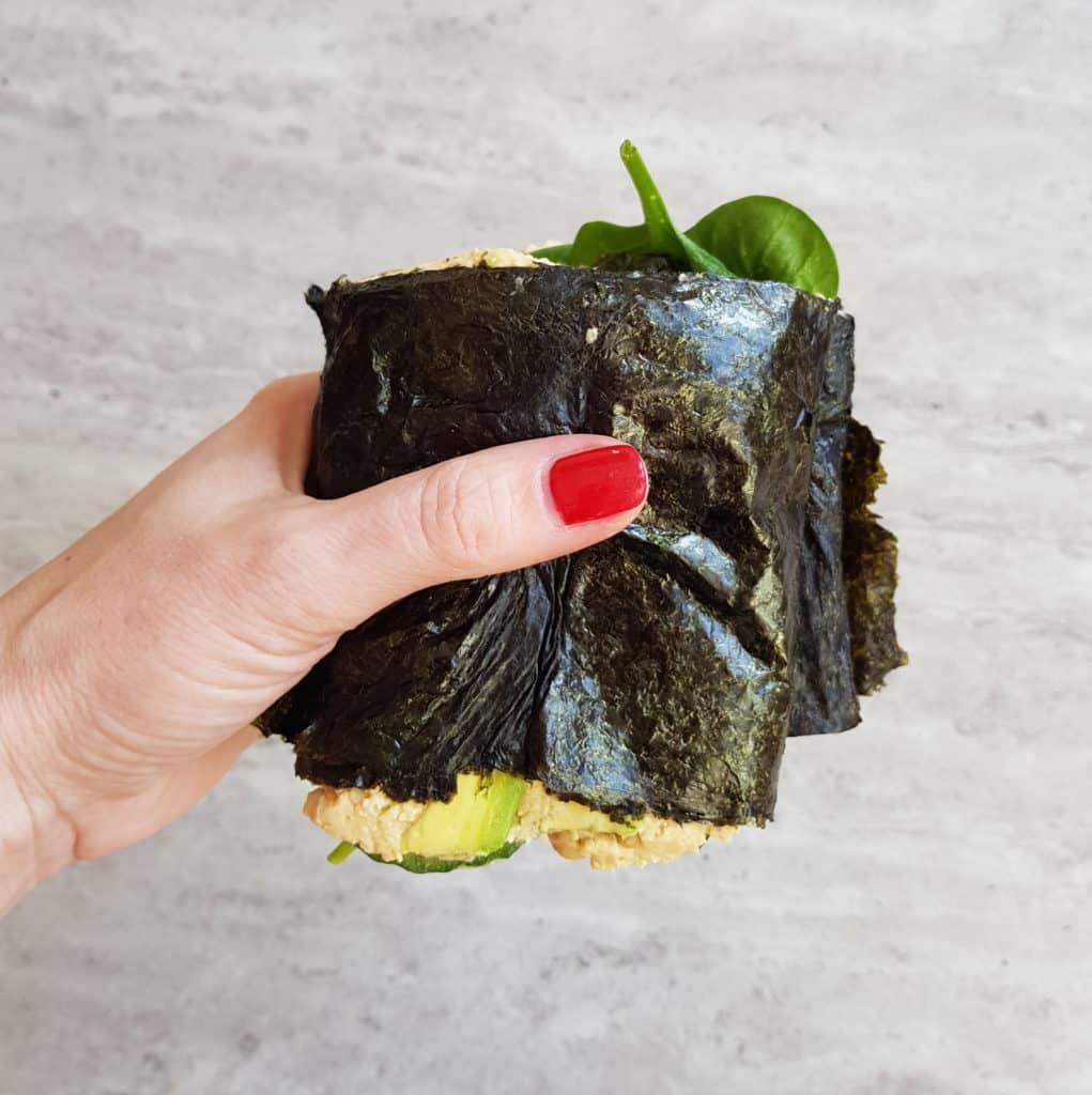 kanapka sushi połówka