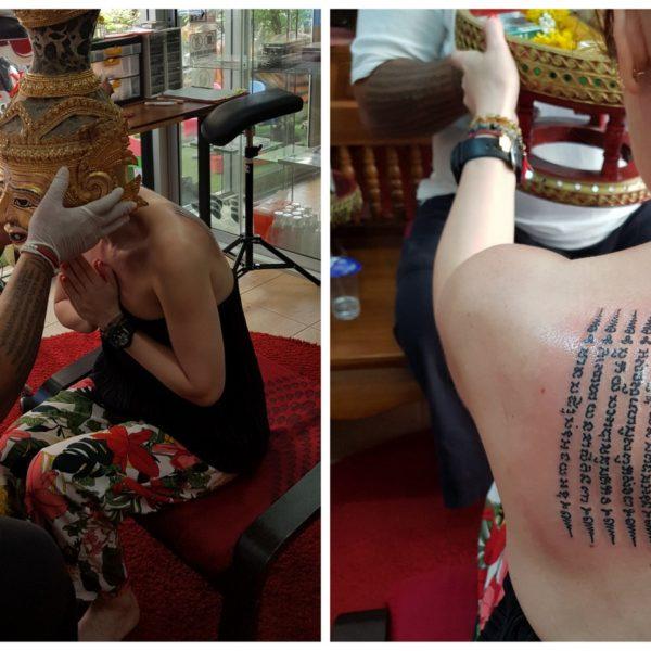 tatuaż w Bangkoku