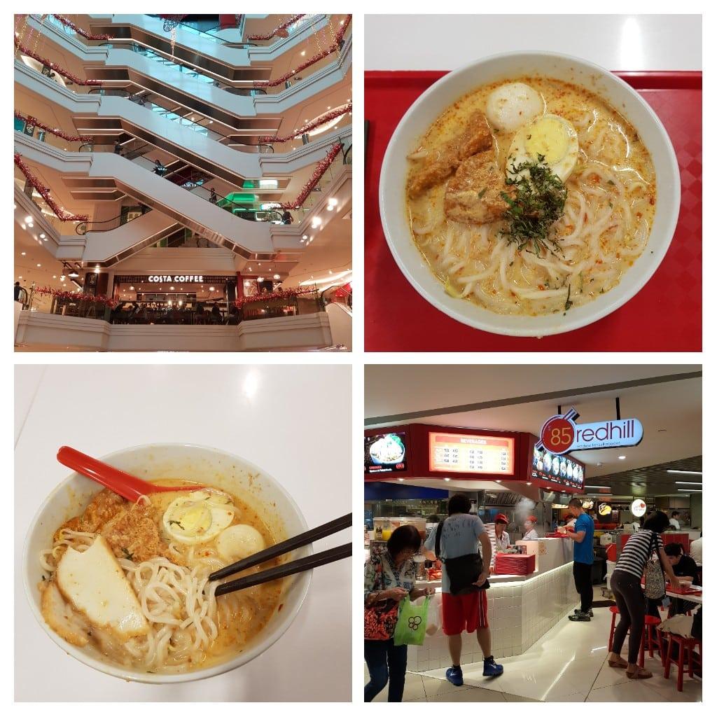 zjeść w Singapurze laksa