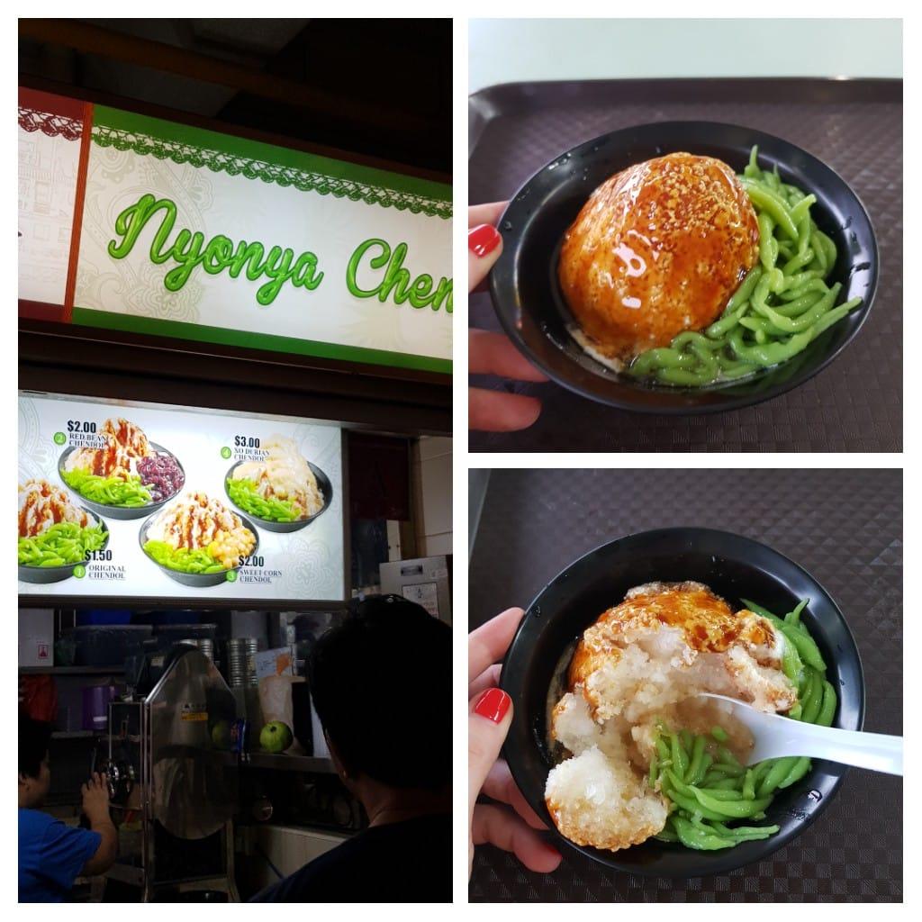 zjeść w Singapurze chendol