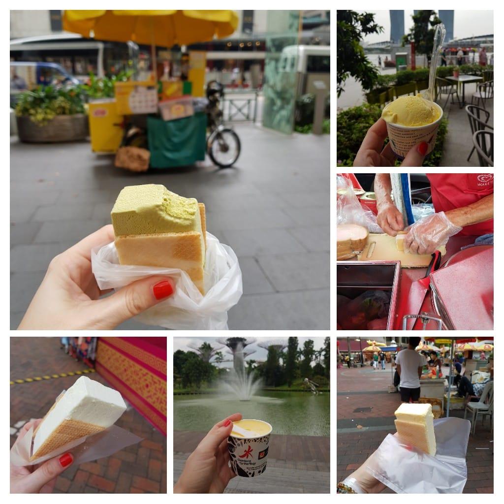 zjeść w Singapurze lody
