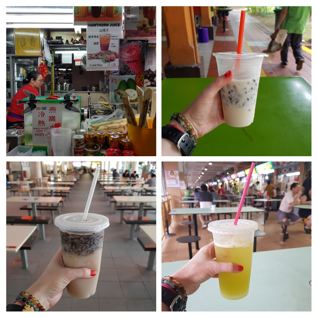 zjeść w Singapurze picie