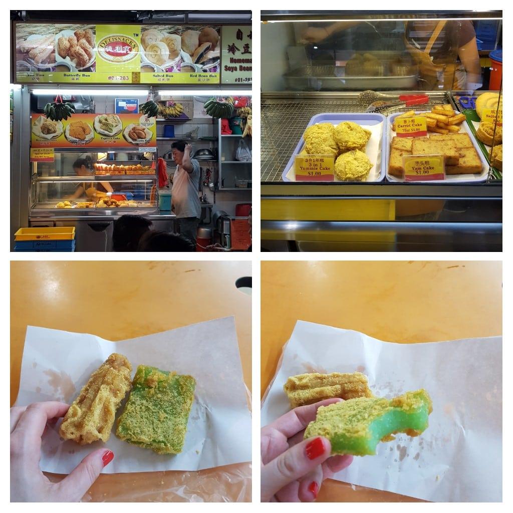 zjeść w singapurze banany