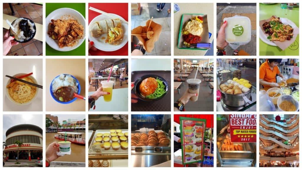 zjeść w Singapurze kolaz