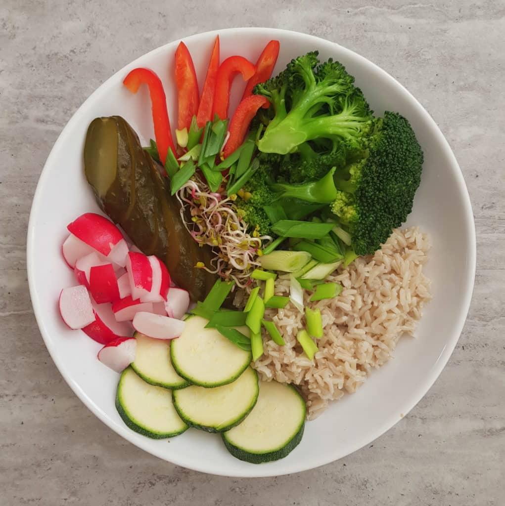 jednodniowy jadłospis obiad