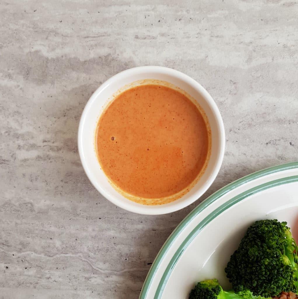 sałatka z kaszą sam sos