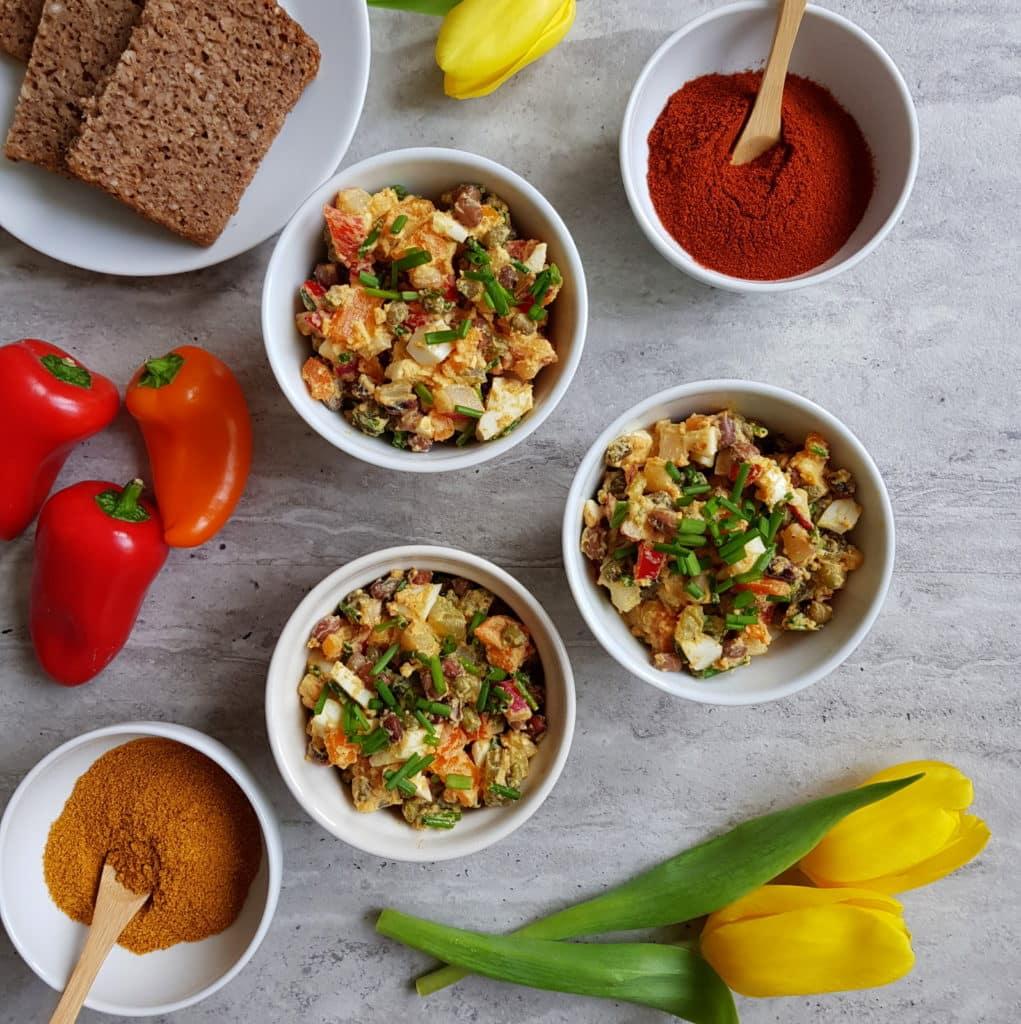 Wielkanoc z curry - sałatka