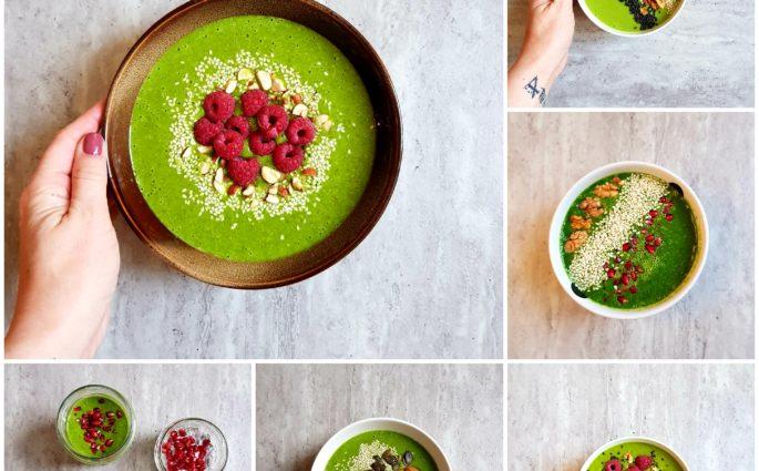 zielone miski