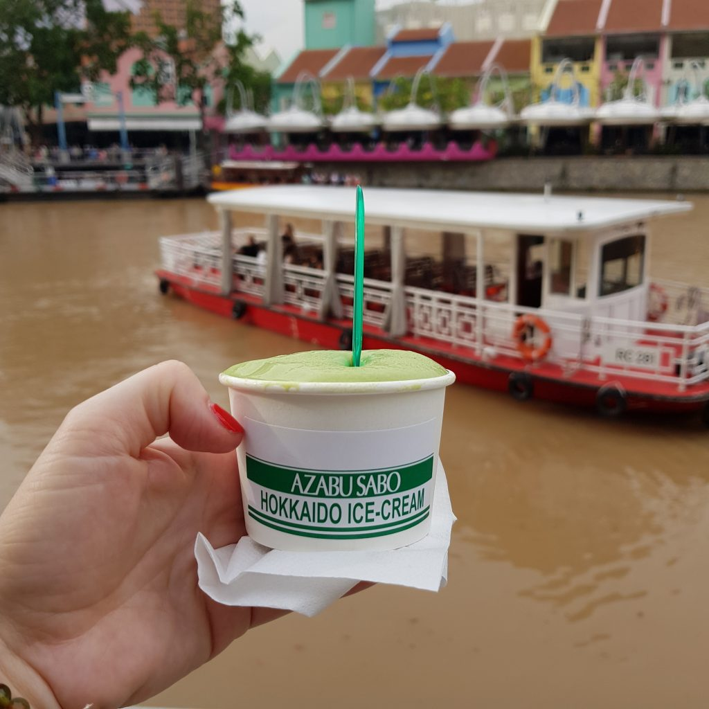 lody matcha singapur