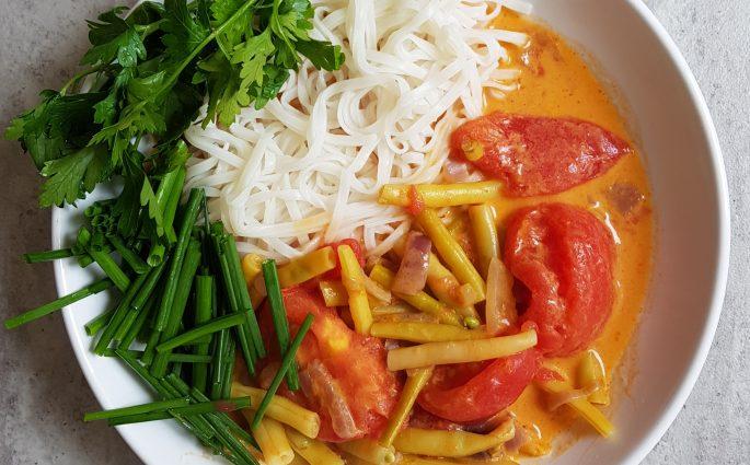 fasolka szparagowa w curry