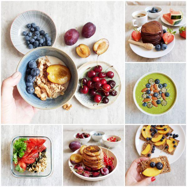 śniadanie w lecie